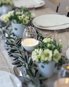 Christmas Table Setting: Great recipes and more at http://www.sweetpaulmag.com !! @Sweet Paul Magazine