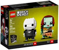 LEGO BrickHeadz 41630 : Jack Skellington & Sally