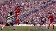 Scottish Cup Final 1990. Aberdeen (The Dons) beating Celtic in Hampden Park. #Aberdeen #Celtic