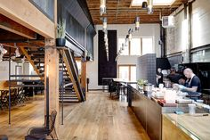 Store Tour: Jayson Home - Emily Henderson Chicago, Adaptive Reuse, World's Biggest, Open Kitchen, Boutique, Things To Come, Tours, Architecture, Building