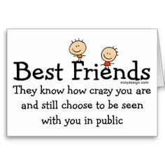 funny pictures about fiendship | Best Friends Cards from Zazzle.com
