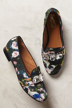 sparkle loafers - anthropologie