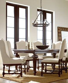 Kelso 7-Pc. Dining Set (Dining Table & 6 Side Chairs) | Pinterest ...