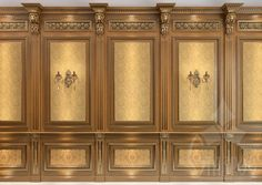 Custom carved wood corbels for trim Classic Interior, Luxury Interior, Luxury Furniture, Wooden Door Design, Wooden Decor, Wall Molding, Moulding, Classic Ceiling, Wood Cladding