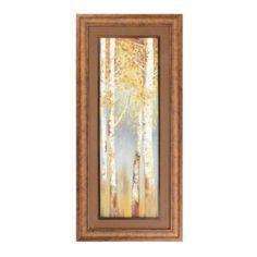 Butterscotch Trees I Framed Art Print   Kirklands
