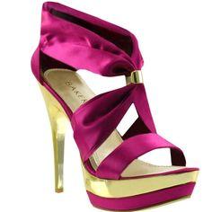 Bakers Dream Platform Sandal ($40) ❤ liked on Polyvore featuring shoes, sandals, heels, bakers sandals, dress sandals, pointed heel shoes, bakers shoes and platform sandals