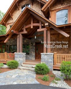 cedar and stucco exteriors | Mountain timber frame home in the heart of New Hampshire snow country ...