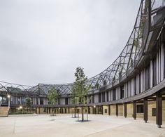 Conjunto Escolar Les Trois Mondes / Joly&Loiret (Bordeaux, Francia) #architecture