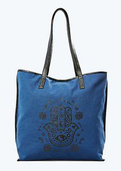 Hamsa Tote Bag   etc! Accessories   rue21