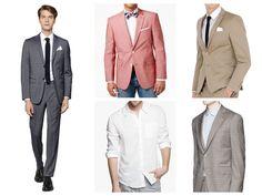 Men's summer wedding guest attire
