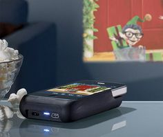 iPhone projector.  Really want.