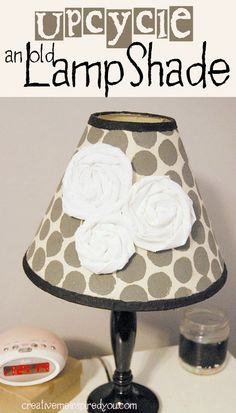 http://creativemeinspiredyou.com/upcycle-a-lampshade/ Upcycle old lampshades! Great money saving idea!