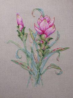 Ekaterina Seryogina, beautiful detailed stitchery!