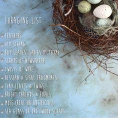faux birds nest materials