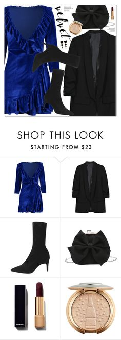 """""""Crushing on Velvet"""" by oshint ❤ liked on Polyvore featuring Edie Parker"""