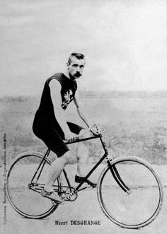 Multitasker: Henri Desgrange war Fahrer, Journalist und Gründer der Tour de France. (undatierte Aufnahme) Bild: AFP | Multitasker: Henri Desgrange was a driver, journalist and founder of the Tour de France. (undated photo) Image: AFP