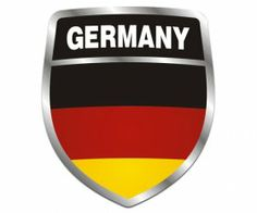 Germany Flag Shield
