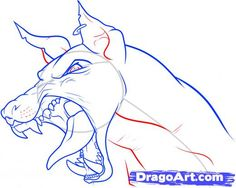 Learn How to Draw a Dog Head, Pets, Animals, FREE Step by Step ...
