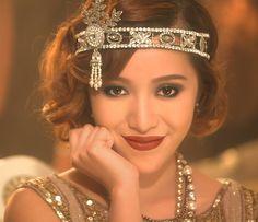 Makeup by EM Cosmetics from Michelle Phan. Michelle Phan, Gatsby Look, Gatsby Girl, Beauty Makeup, Hair Makeup, Hair Beauty, Makeup Tips, Great Gatsby Outfits, Gatsby Makeup