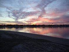 Beautiful sunset at this San Diego Hotel, Bahia Resort Hotel #BahiaResort