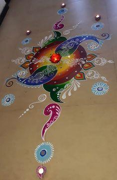 Sanskarbharti Rangoli Painting with Mirror