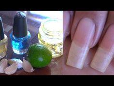 Endurecedor de ajo para las uñas - YouTube How To Grow Nails, How To Make, Nail Hardener, Acrylic Nails At Home, Face Yoga, Strong Nails, Dream Nails, Beauty Hacks, Tan Solo