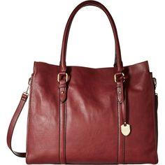 London Fog Croft Tote (Brick) Tote Handbags ($50) ❤ liked on Polyvore featuring bags, handbags, tote bags, red, tote bag purse, london fog tote bag, flat purse, red tote bag and london fog