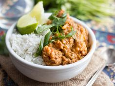 Red Curry Lentils & Cauliflower
