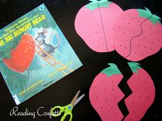 Reading Confetti: Scissor Practice and a Red Ripe Strawberry: July Virtual Book Club