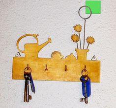 Porte-clefs en bois chantourné   Jardin Porte Clés, Flotte, Bois Flotté, 00ecf9fbc69