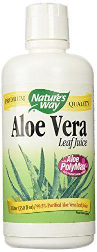 Nature's Way Aloe Vera Whole Leaf Juice, 34 oz - http://alternative-health.kindle-free-books.com/natures-way-aloe-vera-whole-leaf-juice-34-oz/