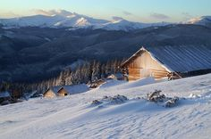 The Carpathians (Karpaty) in Winter / Карпаты зимой