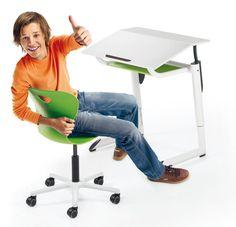 Schulmöbel 4.0: Individualisierung der Tische und Stühle für den gesunden Schülerinnen- und Schülerarbeitsplatz Desk, Furniture, Home Decor, Workplace, Tables, Desktop, Decoration Home, Room Decor, Table Desk