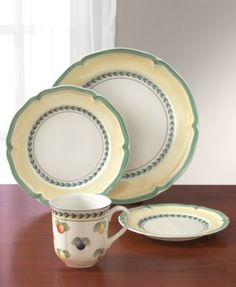 Villeroy U0026 Boch Dinnerware, French Garden Collection | Dinnerware, Casual  Dinnerware And Gardens