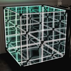 N-Light Membrane by Numen/For Use contains an infinite grid of light