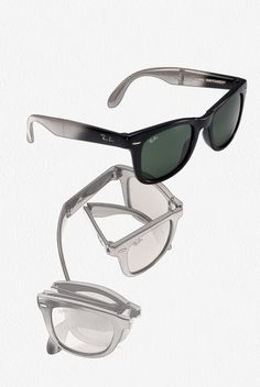 3d3a7d264e The iconic Ray-Ban Wayfarer is now foldable!  style  rayban  designer