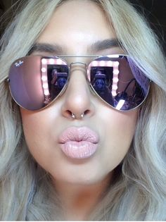 I will have these Lilac mirrored aviators / Ray-bans http://shop.rb2140.com