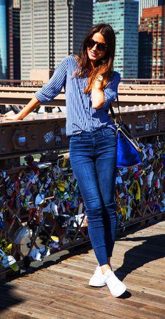 Looks com calça jeans básica ~ Blog da Sophia Abrahão