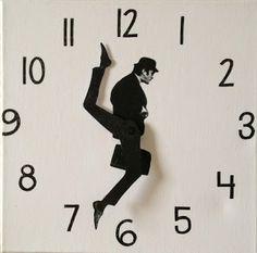 DIY Silly Walk Clock: Tutorial: How to make a Monty Python Silly Walks c...