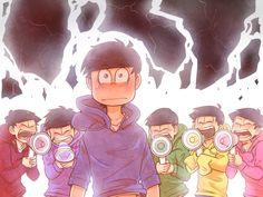 Transparent Elegy     Osomatsu, Ichimatsu, Choromatsu, Jyushimatsu, Todomatsu, and Karamatsu     Osomatsu-san Fan Art by Kyoichii on DeviantArt