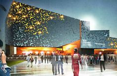 A new concert hall in the Canary Islands will include smart solar shading, solar power and rainwater harvesting.