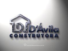 Logotipo criado pela Ópera para a Construtora de Recife   PE.