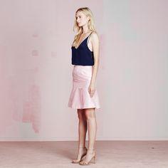Jenny Skirt | vivianchan - #sugarrose #pinkskirt #peplum #skirt #summer2015 #pastel