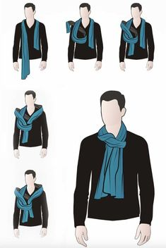 How to Wear a Scarf for Men   The Idle Man