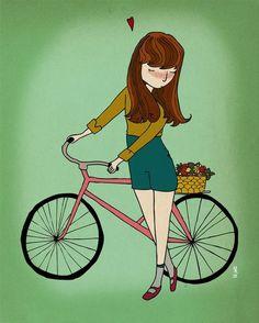 Ilustração bike