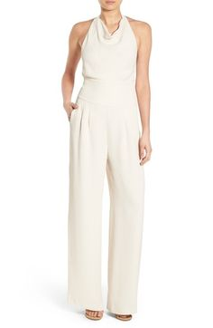 Olivia Palermo + Chelsea28 Wide Leg Jumpsuit available at #Nordstrom