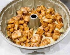 Queque de manzanas   En Mi Cocina Hoy Cake Recipes, Dessert Recipes, Gluten Free Desserts, Chicken Wings, Sweet Potato, Potatoes, Snacks, Meat, Vegetables