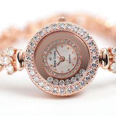 Royal Crown Shilaiyunzhuan genuine diamond watch bracelet watch fashion watch female- gorgeous!!