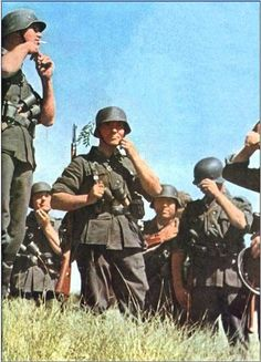 German soldiers in Russia 1941