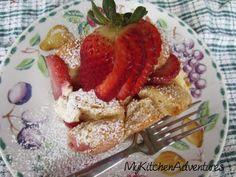 Strawberries and Cream French Toast Bake